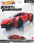 Fast & Furious Hot Wheels Premium Diecast  Car - W Motors Lykan HyperSport