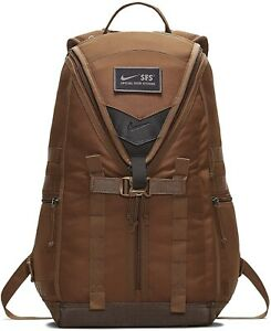 Brand New Nike SFS Recruit Military Backpack Brown BA5550-220 $125