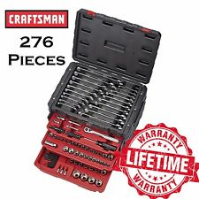 CRAFTSMAN 276 Piece Mechanics Tool Set w. 3 Drawer Chest Alloy Steel Metric SAE