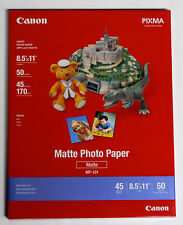Genuine Canon PPM 8.5x11 matte photo paper for MX300 MP190 iP1800 iP2600 MP470