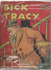 Lot of 2 Scarce Dick Tracy Books, Feature #6 and Four Color #21