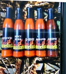Lot of 5 Danger Zone Hot Sauce