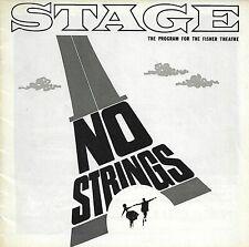 "Richard Rodgers' ""No Strings"" '62/Tryout/Diahann Carroll, Richard Kiley"