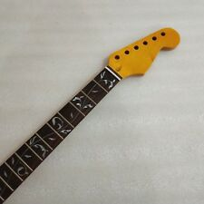 22 Frets inlay Tree of Life maple Rosewood Electric Guitar Neck For Strat Style