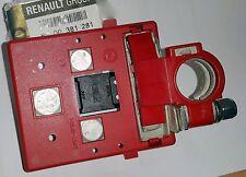RENAULT SCENIC MEGANE CLIO II MORSETTO BATTERIA POSITIVO 8200381281 ORIGINALE