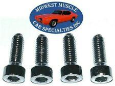 Mopar Chrysler Dodge Plymouth Cuda Door Window Crank Handle Screws Bolts 4pc B