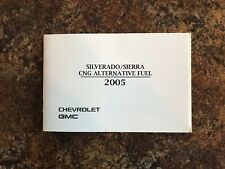 2005 Chevrolet Silverado Compressed Natural Gas (CNG) Guide for Owners Manual