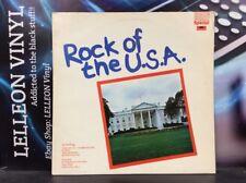 Rock of the U.S.A. Compilation LP album vinyle 2482-357 Rock Années 70