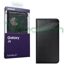 Samsung Ef-wj500b Nera Flip Cover per Galaxy J5