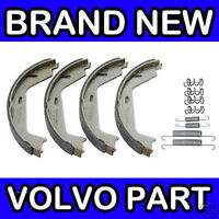 Volvo S60, S80, V70 (00-) Handbrake Shoe Kit / Set