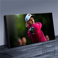 SERGIO GARCIA GOLF ICONIC CANVAS ART PRINT PICTURE-120x56cm UPGRADE ArtWilliams2