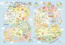 1000 pieces Jigsaw Puzzle Sumikko Gurashi Sumikko Tour Map San-X 1000T-86