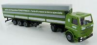 Scania 142 M Sattelzug Forst - Forstfrisch Herpa 1:87 H0 ohne OVP [GE5-A9]