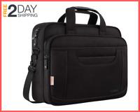 15.6 Inch Laptop Bag Business Office Briefcase Multi-Functional, Messenger Bag