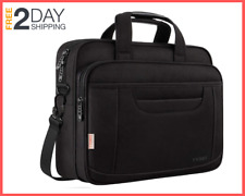 15.6 Inch Laptop Bag Business Office Briefcase Multi-Functional, Messenger Bag