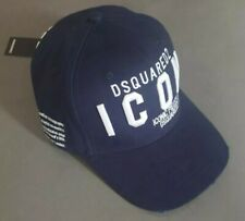 Dsquared ICON Baseball Cap NAVY DSQ2 HAT FAST & FREE POST Dsquared2DSQ FLAG