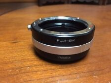 Fotodiox Lens Mount Adapter - Fuji Fujica X-Mount 35mm (FX35) to Canon EOSm