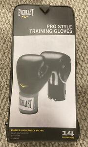 EVERLAST Pro Style Training/boxing Gloves - Black 14oz