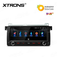 "8.8""Android 8.0 Car Stereo 1-DIN Radio GPS NAV Head Unit 4K For BMW E46 Rover MG"