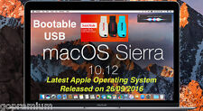 Latest Apple OS 10.12 | macOS Sierra Bootable USB|for Apple Macbook iMac Air Pro