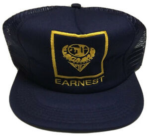 Vtg Earnest Machine Products Trucker Hat Made in the USA Cap Cleveland Ohio OH