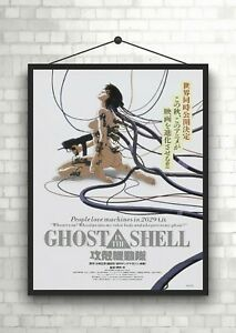 Ghost In The Shell Anime Classic Large Movie Poster Print Maxi A1 A2 A3 A4