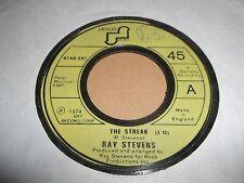 """RAY STEVENS """" THE STREAK """" 7"""" SINGLE JANUS 1974 VG"""