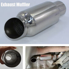 2'' Car Modified Exhaust Muffler Tail Pipe Resonator Stainless Steel Connector