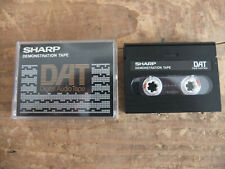 Sharp Demonstration Tape DAT RARITÄT !!! TOP !!! Reinschauen !!!!