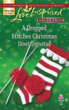 Larger Print Love Inspired: A Dropped Stitches Christmas by Janet Tronstad (2007