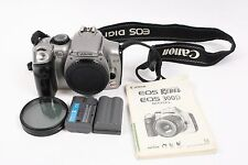 Canon EOS Digital Rebel 300D 6.3MP Digital SLR Camera Body Only FOR PARTS REPAIR