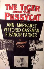 RARE The Tiger and the Pussycat Movie Poster via John McEnroe Private Collection