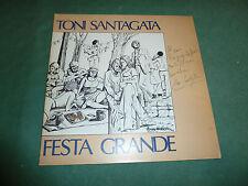 TONY SANTAGATA - FESTA GRANDE  autografato