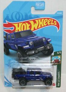 2021 Hot Wheels ~  #117/250 ~ '20 Jeep Gladiator ~ HW Getaways ~ Blue 2020