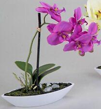 Formano wunderschöne Orchidee Im Porzellanschiffchen lila 28 Cm