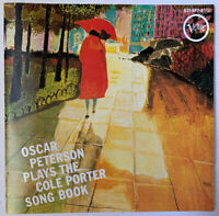 OSCAR PETERSON PLAYS THE COLE PORTER SONG BOOK CD VERVE WEST GERMAN PRESS 1980'S