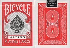 Mazing Bicycle Playing Cards Poker Size Deck USPCC Custom Limited - Real Mazes!