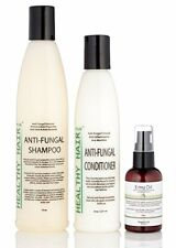 Anti Fungal Scalp Treatment Kit with Shampoo Conditioner and Emu Oil (3 Pcs)