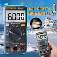 ANENG AN8002 True-RMS Digital Multimeter 6000 Count AC/DC Current Ohm
