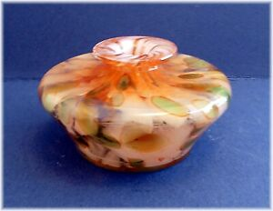 MTARFA GLASS VASE UNSIGNED
