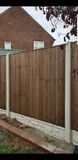 6x6 vertilap fence panels