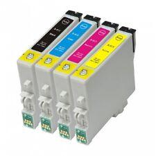 4 Compatibile Epson Stylus T0611-4 (T0615) NON-OEM Cartucce D'inchiostro