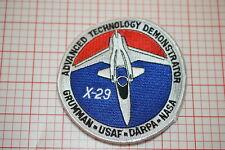 X-29 Advanced Technology Demonstrator - Grumman-USAF-DARPA-NASA Patch