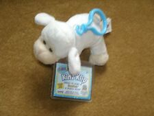 Ganz Kinz Klip ~ WHITE LAMB ~ (WE000353) new with unused tags ~ approx 4""