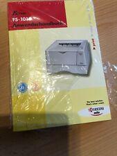 Anwenderhandbuch für Drucker Kyocera FS-1010 Handbuch Bedienungsanleitung