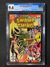 Saga of the Swamp Thing #7 CGC 9.4 (1982)
