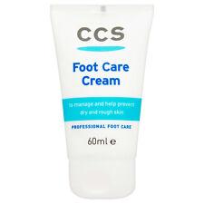 Ccs 100% urea cuidado de los pies Crema 60 Ml seco y duro, rugoso, Agrietados Tacones Callos