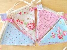 Bunting Cath Kidston Fabric Shabby Chic Wedding Party Vintage Decorations 12FT