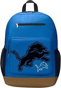 "NFL Detroit Lions ""Playmaker"" Backpack, 18"" x 5"" x 13"""