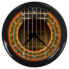 Conde Hermanos Flamenca Guitar Soundhole Style Wall Clock